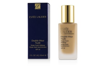 Estee Lauder Double Wear Nude Water Fresh Makeup SPF 30 - # 3W2 Cashew 30ml/1oz