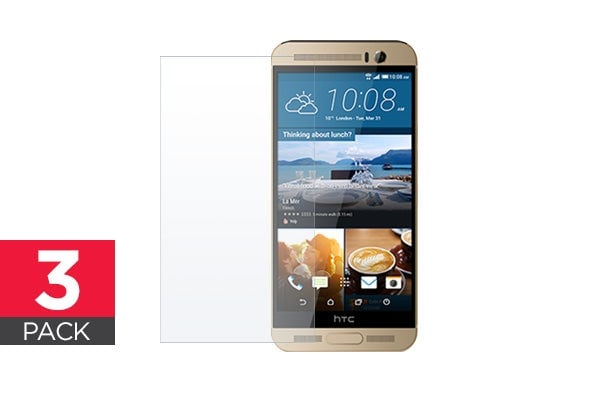 3 Pack Screen Protector for HTC One M9+