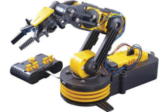 Robotics Project Robotic Arm Electronic Kit Wired remote control