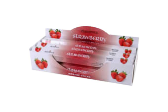 Elements Strawberry Incense Sticks (Box Of 6 Packs) (Red)