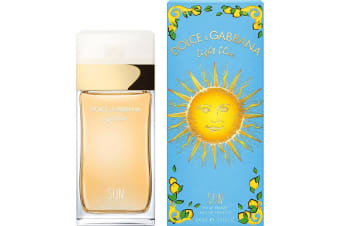 Light Blue Sun Pour Femme Limited Edition for Women EDT 100ml