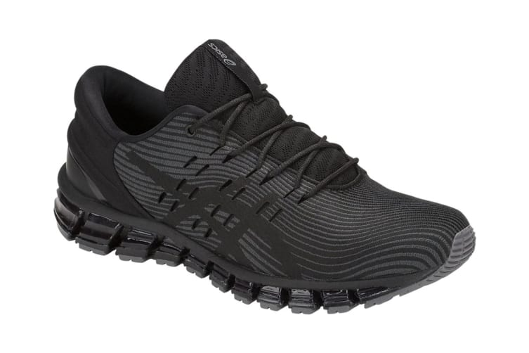 ASICS Men's Gel-Quantum 360 4 Running Shoe (Dark Grey/Black, Size 7.5)