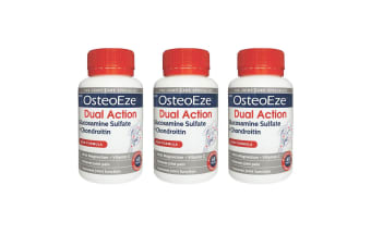 Herron OsteoEze 180 Tablet Dual Action Glucosamine Sulfate/Chondroitin f/Joint