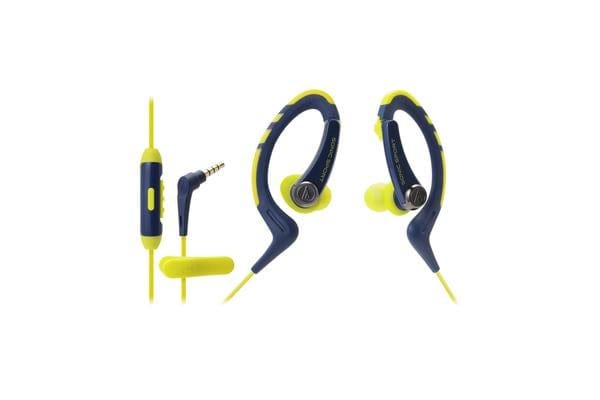Audio-Technica AUDIO TECHNICA ATHSPORT1ISNV AT ATH-SPORT 1IS NAVY WATERPROOF IN EARS