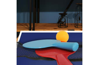 Home Office Entertainment Desktop Table Tennis Mini Portable Set Pressure Relief