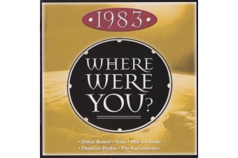 Various – • 1983 • Where Were You? BRAND NEW SEALED MUSIC ALBUM CD - AU STOCK