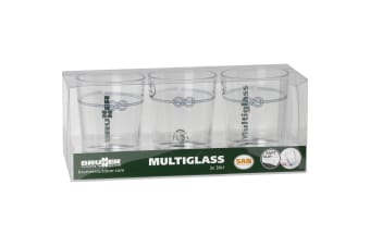 Brunner Multiglass Tumblers (Set Of 3) (Nautical) (One Size)