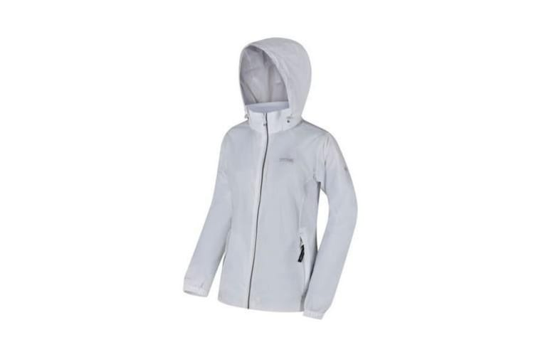 Regatta Womens/Ladies Corinne IV Waterproof Softshell Jacket (White) (14 UK)