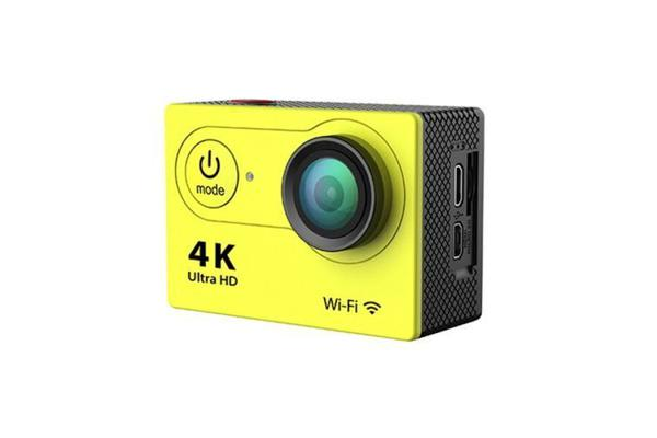 Cool Wifi Sport Action Camera Dv 4K Ultra Hd Spca6350 Hdmi 2 Inch Lcd H9 Yellow