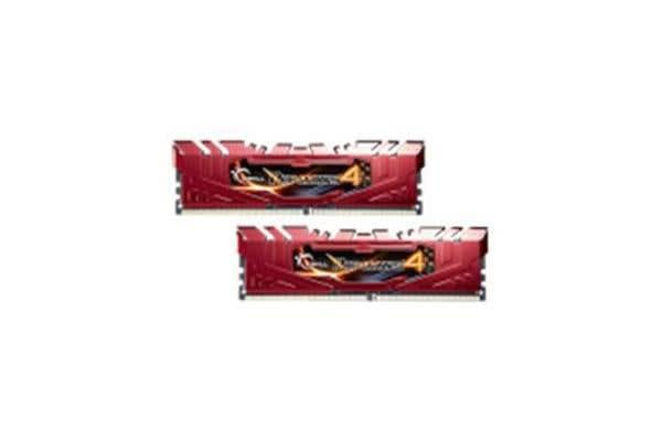 G.SKILL RIPJAWS 4 DDR4 2400 MHZ 8GB KIT 2X4GB 15-15-15-35 1.2V PC4-19200 RED