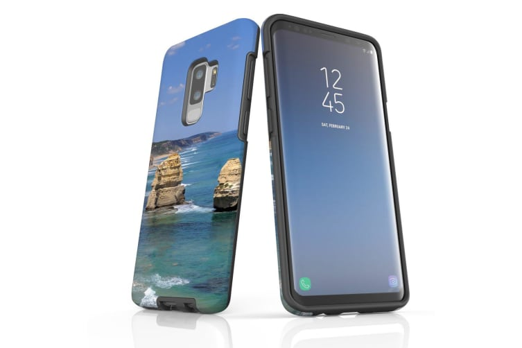 For Samsung Galaxy S9+ Plus Case Armour Cover  Great Ocean Rd Rocks