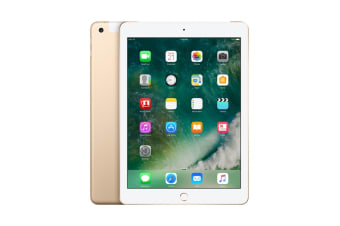 Apple iPad 2017 (128GB, Cellular, Gold)
