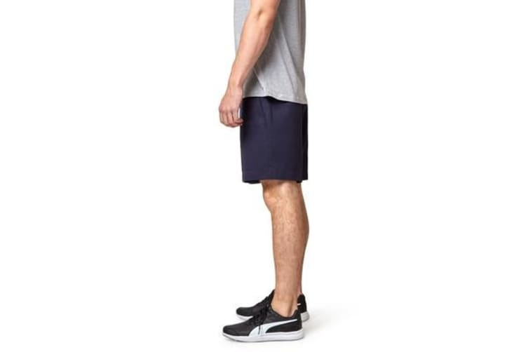 King Gee Plain Front Short (Navy, Size 92R)