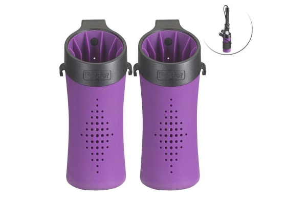 2x Polder Hot Sleeve Storage Holder Heat Resistant f Hair Styling Curling Iron