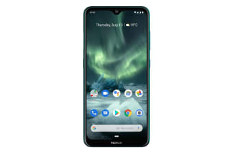 Nokia 7.2 (Dual Sim 4G/4G, 128GB/4GB, 48MP) - Cyan Green