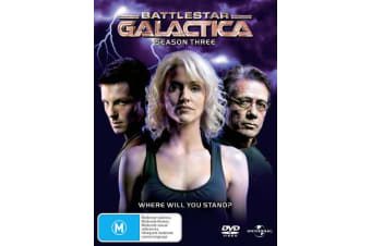 Battlestar Galactica Season 3 DVD Region 4