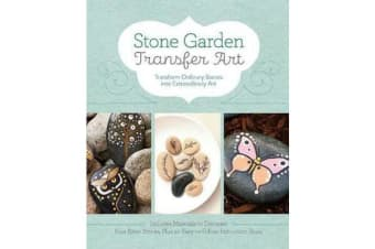 Stone Garden Transfer Art - Transform Ordinary Stones into Extraordinary Art