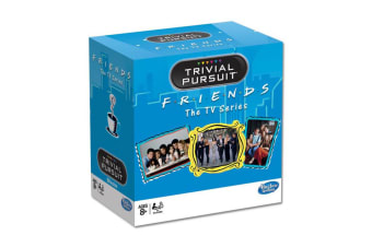 Trivial Pursuit Friends TV Series Game/Card 600 Questions 12y+ Family/Kids/Adult
