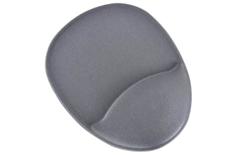 DAC Computer Mouse Pad Wrist/Palm Rest Support Ergonomic Super Gel Cushion Grey