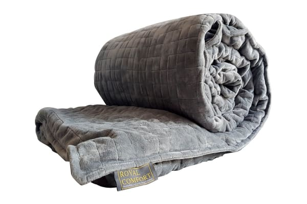 Royal Comfort Snug Embrace Weighted Gravity Blanket - Single