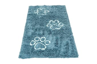 Dog Gone Smart Dirty Dog Doormat Runner (Turquoise)