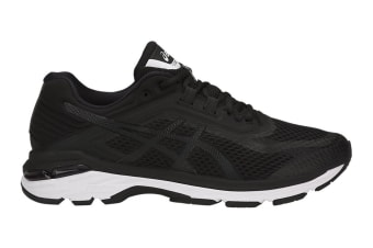ASICS Men's GT-2000 6 Running Shoe (Black/White/Carbon, Size 8)