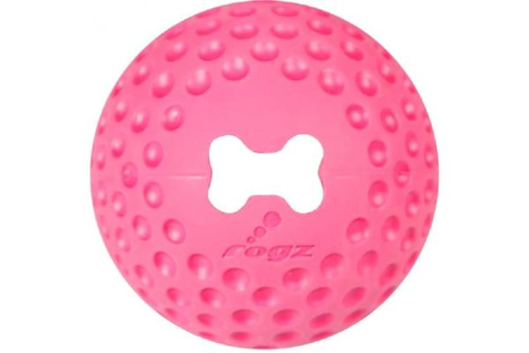 Rogz Gumz Ball Pink - Large