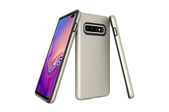 For Samsung Galaxy S10+ Plus Case  Armour Gold Protective Durable Phone Cover