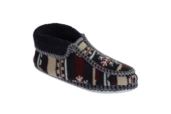 Group Five Norway Slipper / Womens Slippers / Ladies Slippers (NVY/GY)
