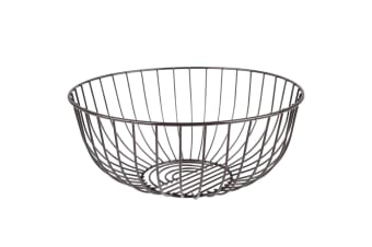 Sunset Fruit Wire Bowl 28cm Serving Kitchen Basket