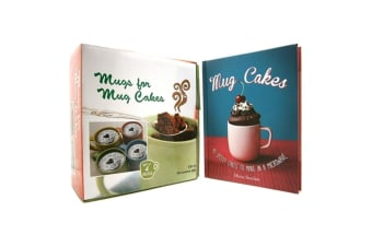 Mugs For Mug Cakes Book Kit, by Mima Sinclair