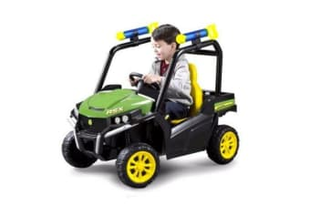 John Deere Electric Car Toy 6V Ride On Rechargeable Battery Gator Toddler