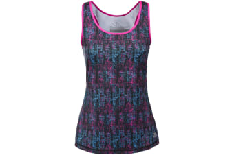 Trespass Womens/Ladies Selma Active Sleeveless Vest Top (Pink Glow Print)