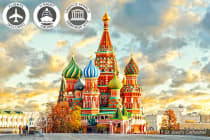 RUSSIA: 15 Day River Cruise & Dubai Stopover Including Flights for Two