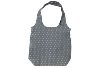 Playette PVC Free Shopping Bag/Carry Tote for Stroller/Pram Accessory Green Dots