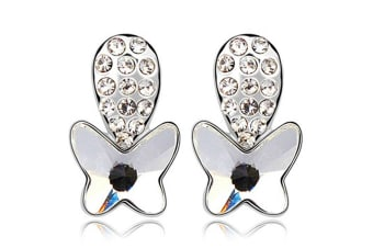 Spring Butterfly Studs Embellished with Swarovski crystals