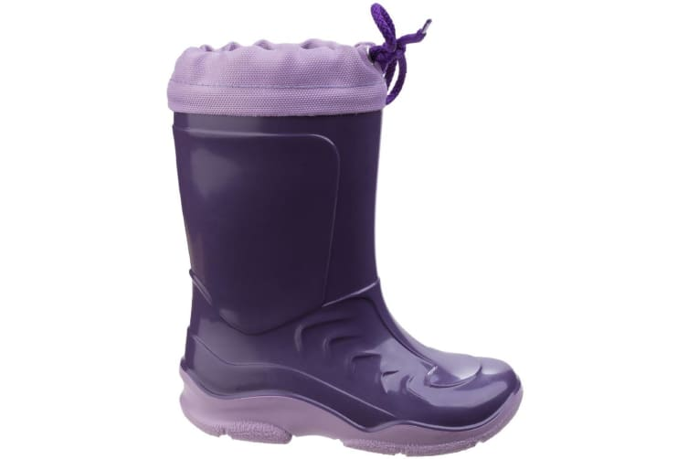 Mirak Splash Childrens Warmlined Boot / Girls Waterproof Boots (Lilac) (27 EUR)
