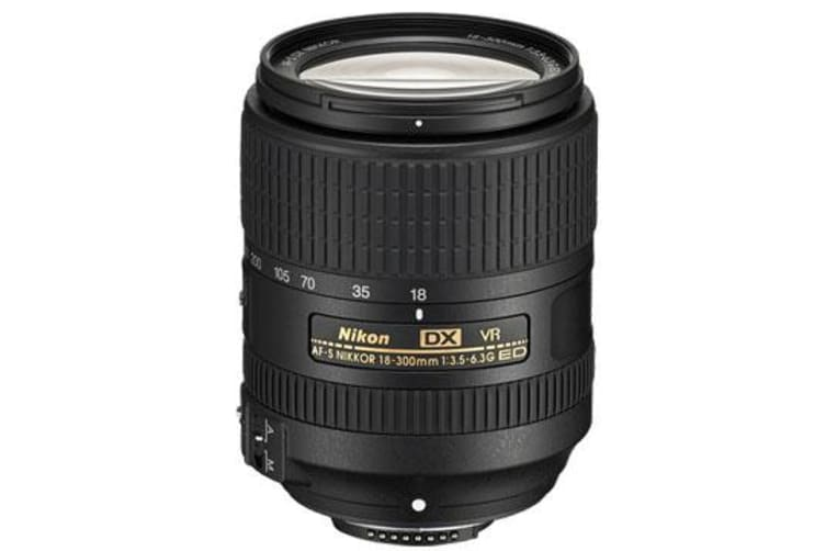 New Nikon AF-S DX NIKKOR 18-300mm f/3.5-6.3G ED VR Lens (FREE DELIVERY + 1 YEAR AU WARRANTY)