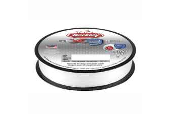Berkley X9 Braided Fishing Line 150M Spool Crystal 1.8 Kilo /4Lb
