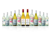 Australian Mixed White Wine Carton Featuring Penfolds Rawsons Chardonnay (12 Bottles)