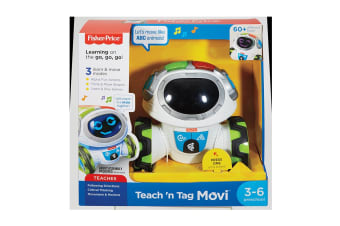 Fisher Price Think And Learn Teach 'N Tag Movi