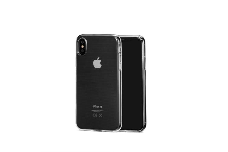 Apple iPhone X/XS Slim Bumper Case (Clear)