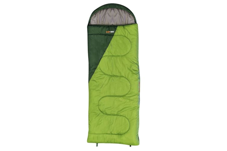 BlackWolf Solstice King 450 Sleeping Bag - Green/Forest
