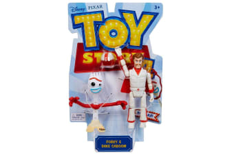 Toy Story 4 Forky and Duke Caboom Basic Figures
