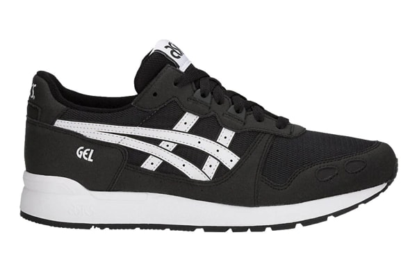 ASICS Tiger Unisex Gel-LYTE Shoe (Black/White, Size 8.5)