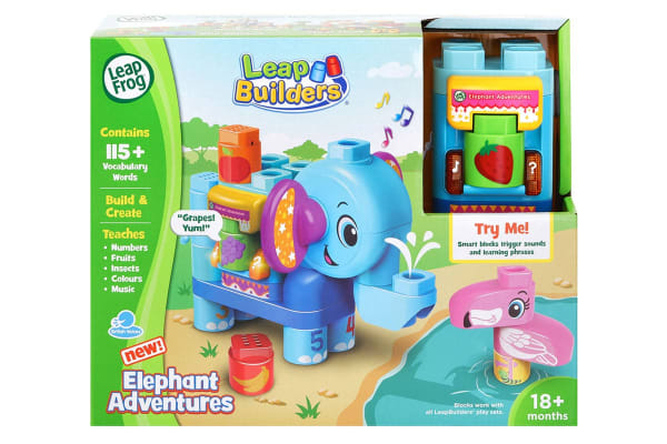 LeapFrog LeapBuilder Elephant Adventures
