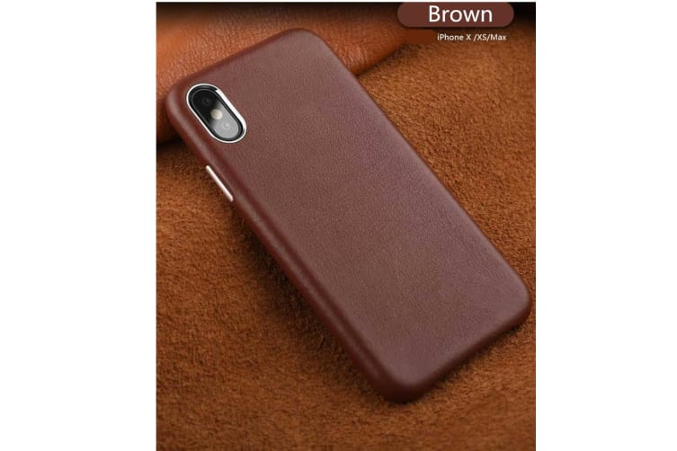 Full Leather Case Compatible With Iphone Real Leather,Covered Buttons Brown Iphone7Plus/8Plus