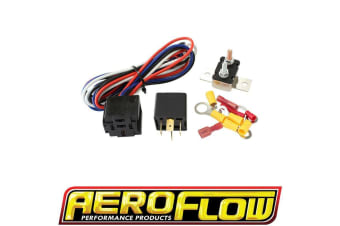Aeroflow Electric Fuel & Water Pump Relay And Wiring Kit