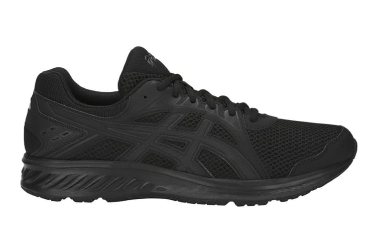 ASICS Women's JOLT 2 Running Shoes (Black/Dark Grey, Size 6.5)