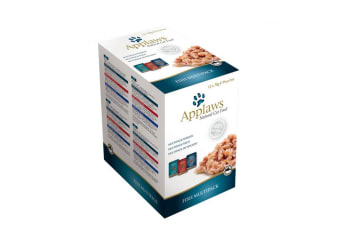 Applaws Fish Multipack Wet Cat Food In Broth (12 Pouches) (May Vary) (12 x 70g)